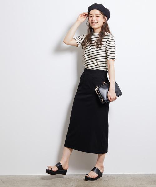 [ROPE' PICNIC] カットソーアイラインスカート