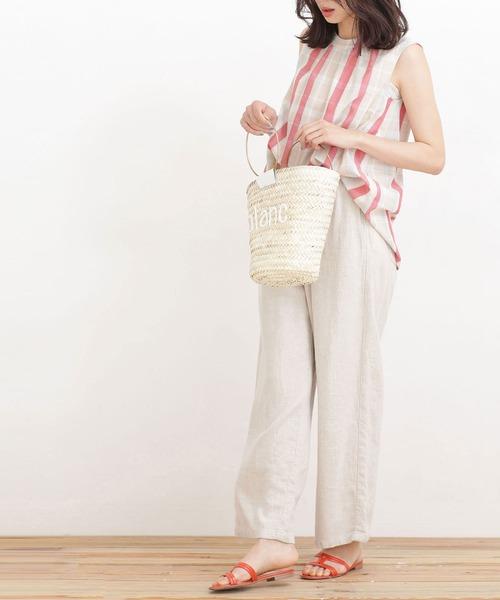【韓国】7月におすすめの服装:パンツ