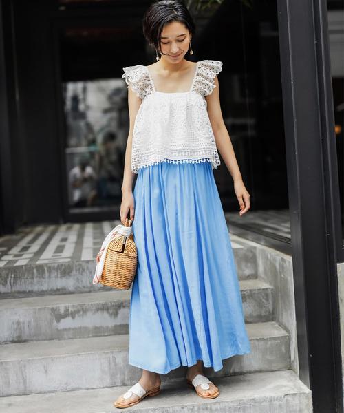 【韓国】7月におすすめの服装:スカート3