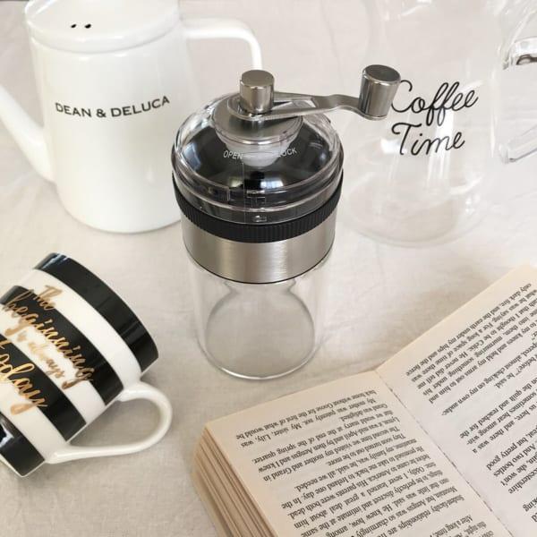 本格的なコーヒーが飲めるコーヒーミル