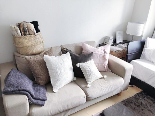 くつろぎのソファスペース