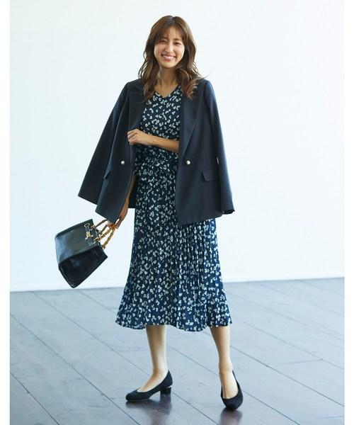 [Couture brooch] 【WEB限定プライス/WEB限定サイズ(S・LL)あり/セットアップ】マニッシュダブルジャケット