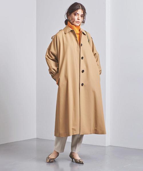 [UNITED ARROWS] UGMSC ステンカラー コート