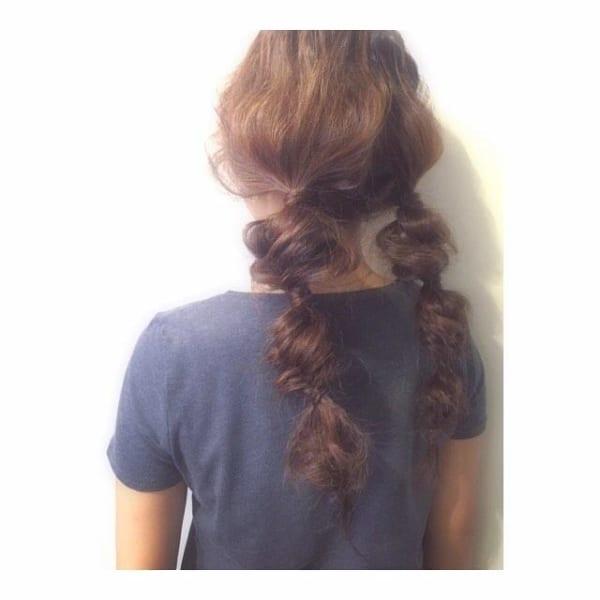 夏フェスにおすすめの髪型《ロング》3
