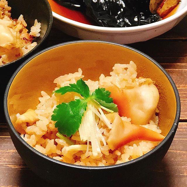 父の日のメニューに簡単料理!ホッキご飯