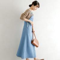 定番「デニム」はスカートもかわいい♡カジュアル春コーデ特集