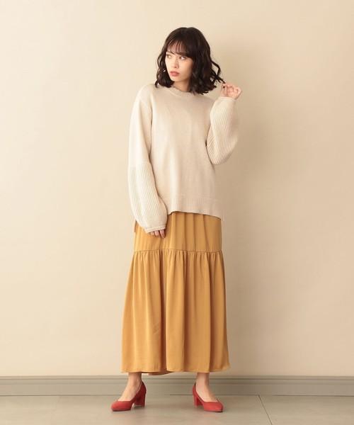 [SANYO SELECT] 【DIRECTED BY SARI 】ロングティアードドレス