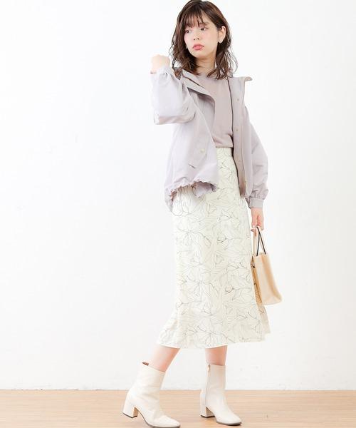 [natural couture] ボリューム袖マンパ