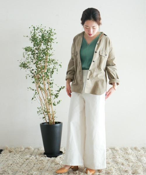 [NOMBRE IMPAIR] ミリタリークロス シャツジャケット