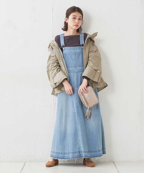 [CIAOPANIC TYPY] 【TYPYDENIM】デニムジャンパースカート2