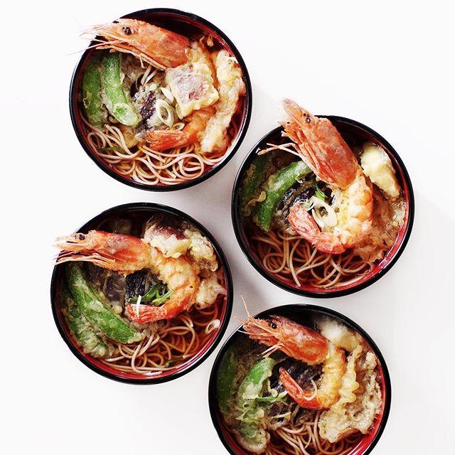 休日は和食のお昼ご飯レシピ!天ぷらそば