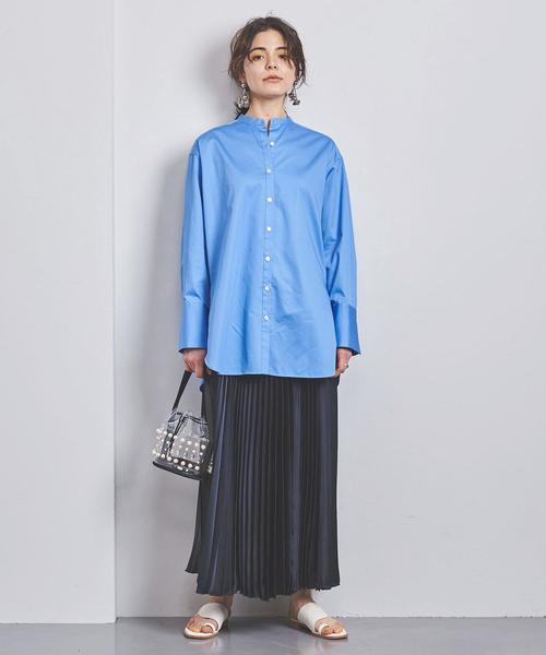 [UNITED ARROWS] UWCS アコーディオン プリーツスカート ②