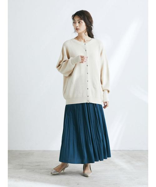[CRAFT STANDARD BOUTIQUE] 【新色追加】PLEATED LONG SKIRT/ギャザーロングプリーツスカート〇☆*