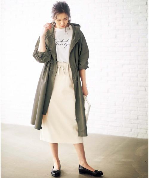 [GeeRA] 【20春新着】リブ素材タイトスカート