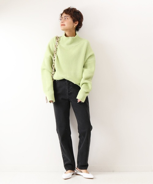 [Spick & Span] 【5 1/2】GIRLY-LINE DENIM◆