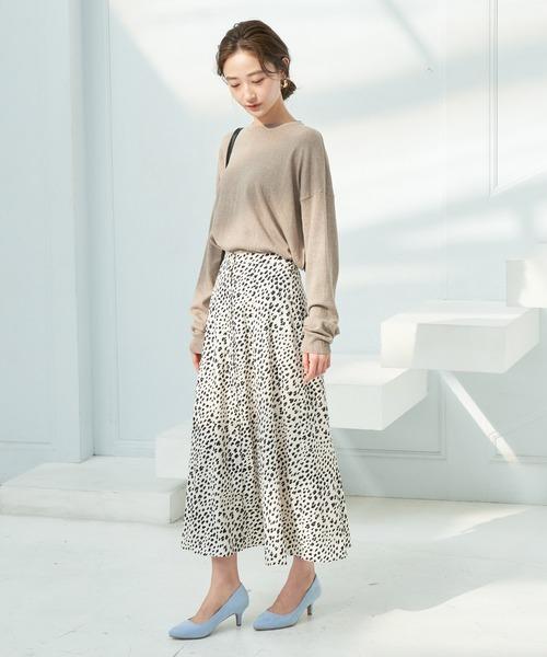 [ViS] 【WEB限定】アソートフロントボタンスカート
