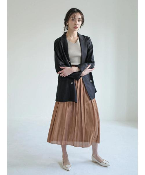 [YECCA VECCA] 【2020春夏】ロングテーラードジャケット*