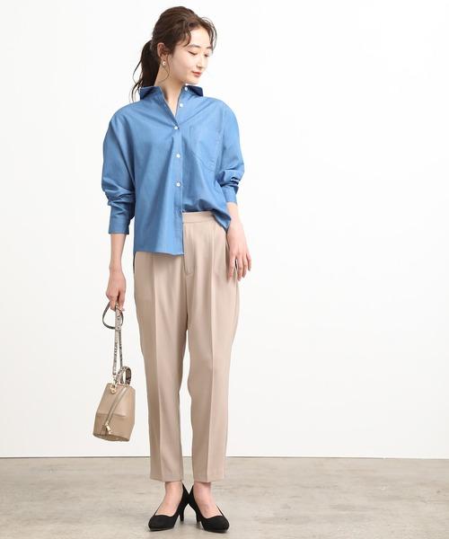 [ViS] バックシャンオーバーサイズシャツ