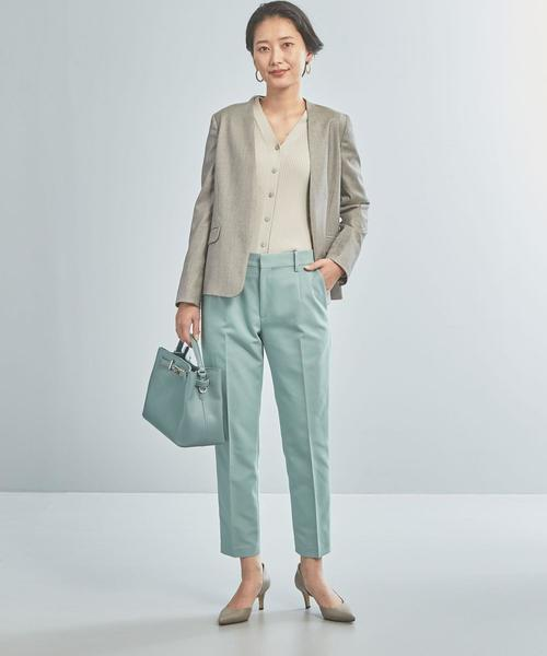 [green label relaxing] 【WORK TRIP OUTFITS】★WTO BC シャーク ノーラペルジャケット