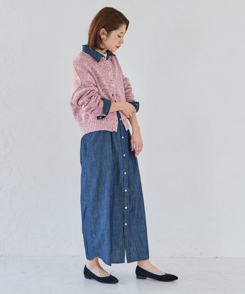 [ORiental TRaffic] 春夏新作★ポインテッドフラットパンプス★2102