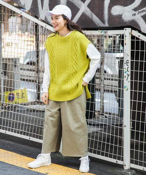 [niko and...] 【newhattan(ニューハッタン)】刺繍入りカラーキャップ