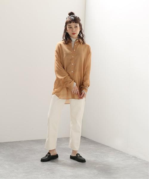 [JOURNAL STANDARD] シアービッグシャツ