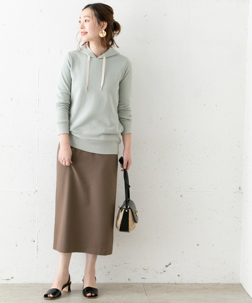 [URBAN RESEARCH ROSSO WOMEN] 【WEB限定】チュニックパーカー