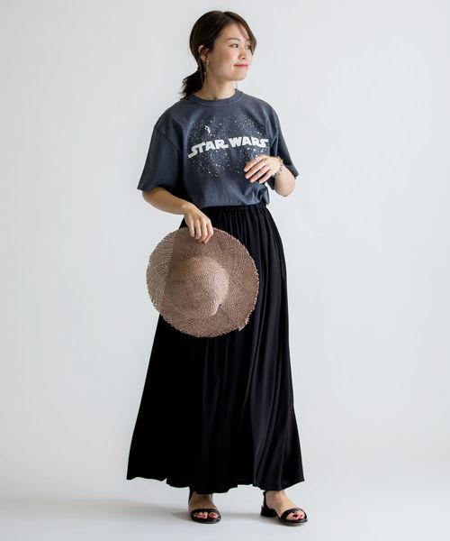 [SHIPS for women] ウォッシャブルリラックスマキシスカート◇
