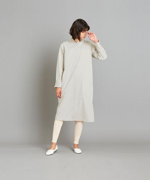 [BEAUTY&YOUTH UNITED ARROWS] <Steven Alan>CHECK TROMPE LOEIL DRESS/ワンピース
