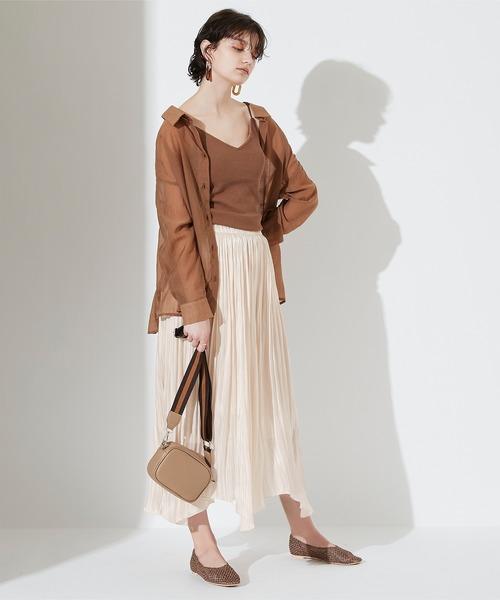 [titivate] ランダムヘムギャザースカート