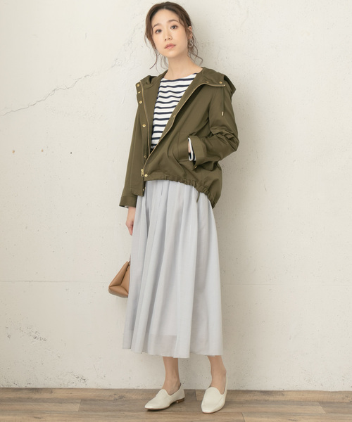 [URBAN RESEARCH ROSSO WOMEN] F by ROSSO マウンテンパーカー