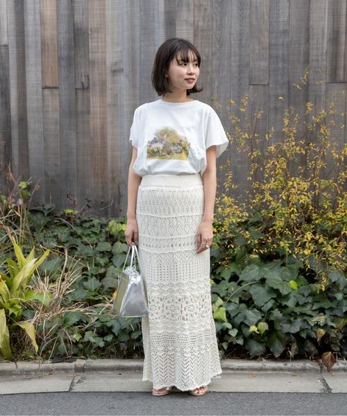 [flower] サニークロシェットスカート