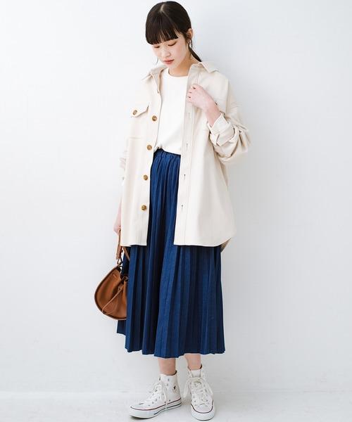 [haco!] 気軽に羽織って今っぽオシャレに見える ゆるさがかわいいCPOジャケット