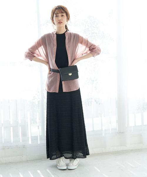 [ROPE' PICNIC] 【WEB限定】レーシーマーメイドスカート