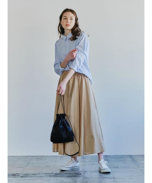[SEVENDAYS=SUNDAY]  【2020春夏】ボリュームギャザースカート*