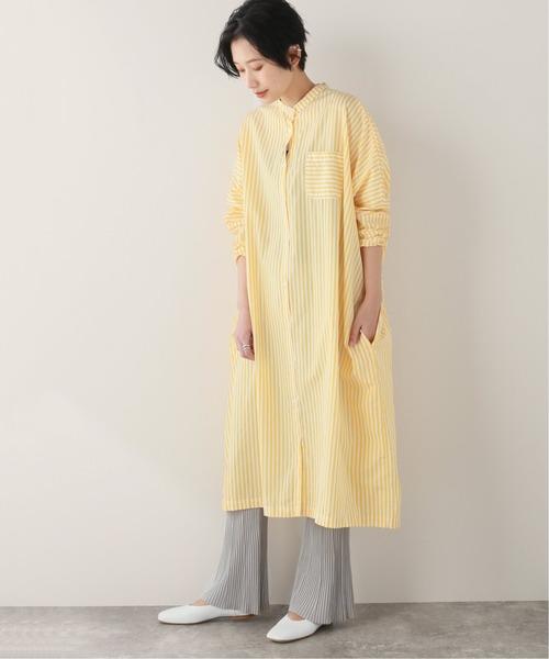 [JOURNAL STANDARD] 【GALLEGO DESPORTES/ギャレゴデスポート】COLLAR BAND DRESS:ワンピース