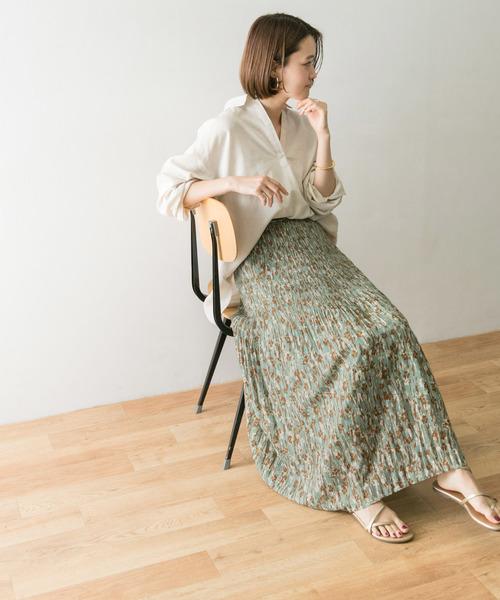 [URBAN RESEARCH] DEVEAUX マジョリカプリーツスカート
