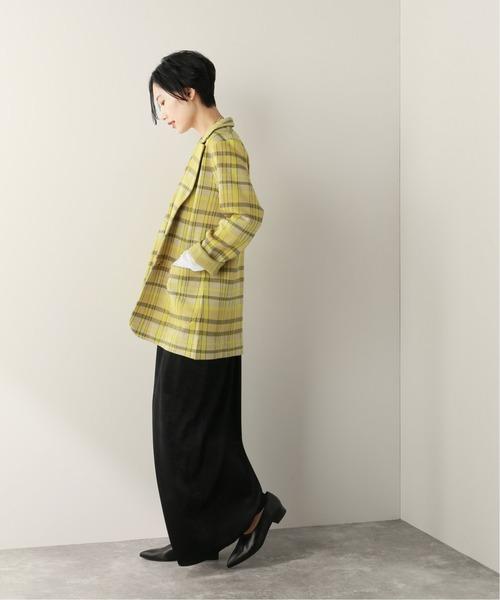 [JOURNAL STANDARD] 【NEU】PEチェックテーラードジャケット