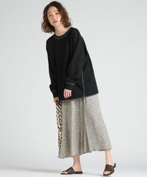 [LIPSTAR] 【WEB別注】ドットフラワースカート
