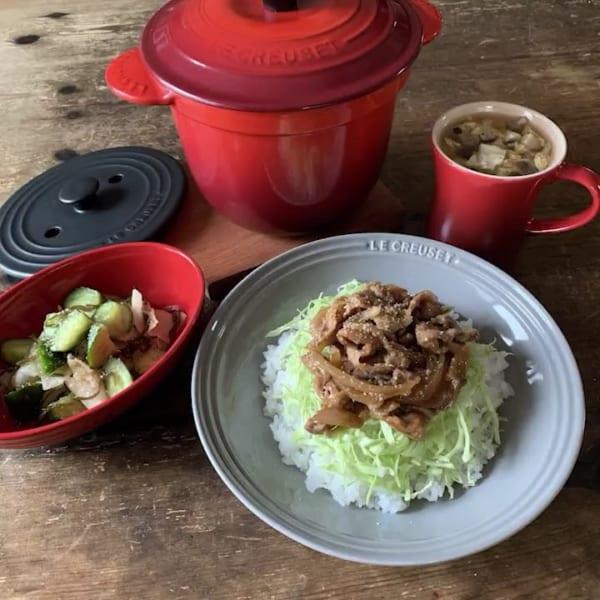 休日のお昼ご飯はこのレシピ!豚の生姜焼き丼