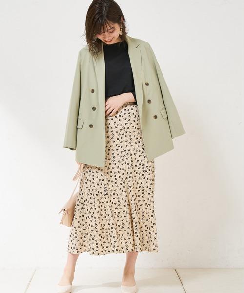 [natural couture] テーラードおしゃれジャケット