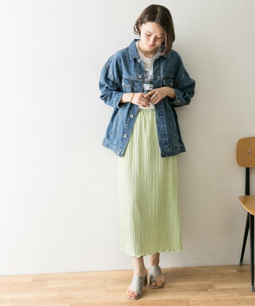 [URBAN RESEARCH] プリーツタイトスカート