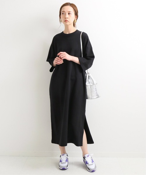 [IENA] 【TRADITIONAL WEATHERWEAR】LONG Tシャツワンピース◆