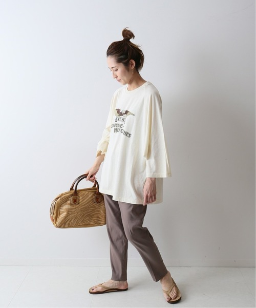 [Spick & Span] 【VOTE MAKE NEW CLOTHES】モーターサイクルBB TEE◆