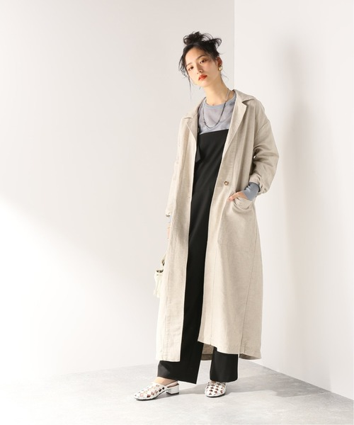 [JOURNAL STANDARD] 【esby】BARONNE DUSTER COAT:コート