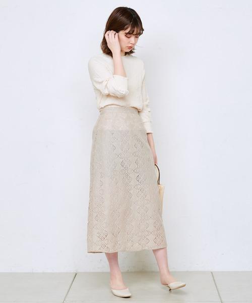 [natural couture] おしゃれシワ加工シャーリングブラウス