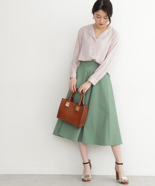 [N.(N. Natural Beauty Basic)] ◆ガルーダツイルシャツ
