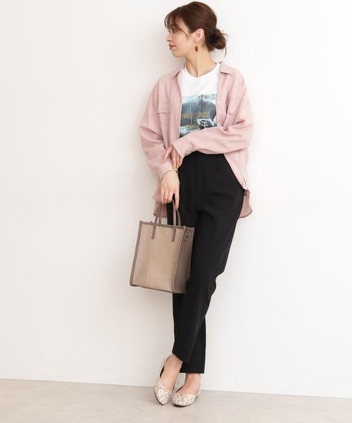 [N.(N. Natural Beauty Basic)] ◆ドライポプリンシャツ