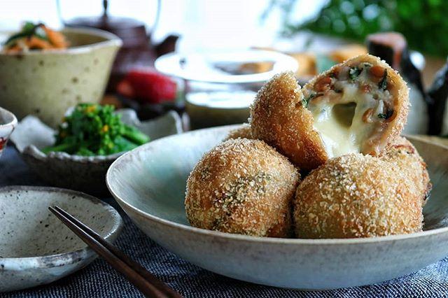 ゴールデンウィークに!チーズの里芋納豆コロッケ