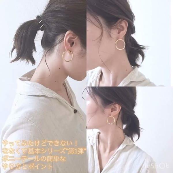 夏祭り 髪型8